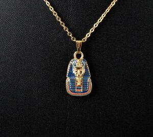 A Sospensione Tut Ankh Amon Tutankhamon Egitto Colore