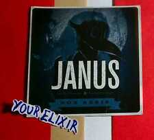 Janus Stains Blue Board Amp Guitar Case Rare Sticker