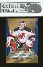 2016 Nationals Prominent Cuts VIP #VIP-3 Martin Brodeur (New Jersey Devils)