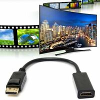 HP Display Port DP Male to HDMI V1.4 Female Converter Adapter Cable Connector