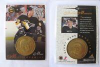 1997-98 Pinnacle MINT #27 Morozov Alexei BRONZE COIN with card  penguins