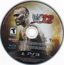 WWE '12 (Sony PlayStation 3, PS3, 2011) **DISC ONLY**