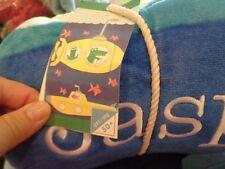 POTTERY Barn Kids Classic Submarine  beach towel 32 X 64 mono Jasper New