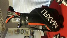 Maxfli Australian Black Max Complete Golf Set Irons Woods Wedges Putter Bag RH
