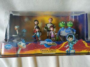 Disney Store Miles From Tomorrow Figurine Playset 6 Figure Set
