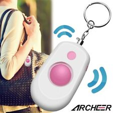 ARCHEER 130dB Personal Anti-Attack Security Panic Loud Alarm Emergency Keychain