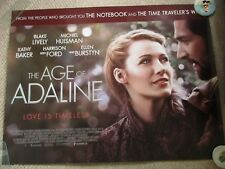 The Age of Adaline - Genuine Film Quad Poster