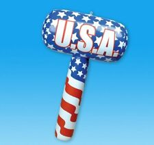 """Rhode Island Novelty 22"""" Patriotic Mallet Inflate Pretend Play Toy Products"""