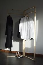 Handmade Double Clothes Rail with Frame Shape !