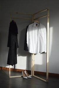 Handmade Double Clothes Rail with Frame Shape!