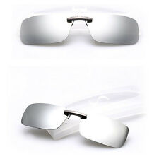 Sunglasses Polarized Clip On  Driving Glasses Night Vision Lens UV400 Cool CN