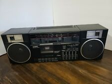 Fisher Ph402 80's Portable Am/Fm Stereo Cassette Boombox Radio vintage
