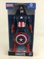 "Marvel Avengers Captain America Super Hero 9"" Action Figure Rogers 2019 Hasbro"
