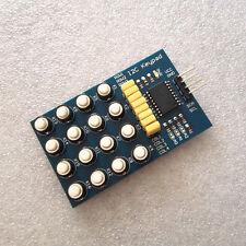 I2C Keypad Module 16 Key Membrane Switch Keypad Matrix keyboard NEW