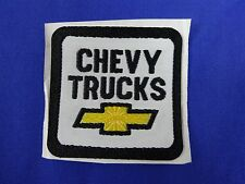 CHEVY TRUCKS Yellow Bow Tie Self-Adhesive Backing Patch Chevrolet GM Indy 500