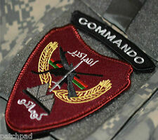 Military Alliance SFG JTF AFGHANISTAN NATIONAL ARMY SPECIAL FORCES vêlkrö PATCH