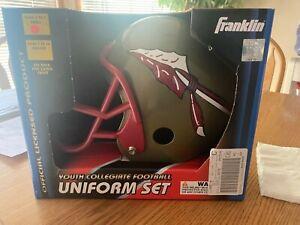 Franklin Sports Collegiate Uniform Set Helmet, Jersey, Pants small FSU Seminoles