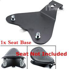Solo Seat Baseplate Bracket For Honda Yamaha Kawasaki Suzuki Bobber Chopper New