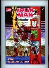 """Iron Man-The Armor Wars"" reprints #232 to #235, 1990 Marvel,TPB,1st Print,BX83"