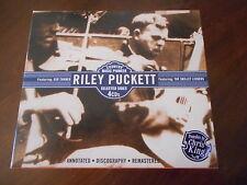 Riley Puckett 4 CD BOX UK JSP Comme neuf