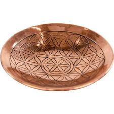 Celtic Flower of Life Copper Ritual Altar Plate, Bowl!