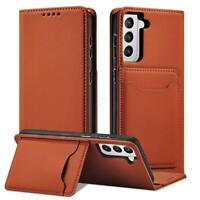 For Samsung Galaxy S21 Plus Ultra 5G Card Holder Case Leather Wallet Flip Cover