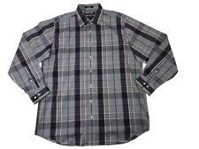 Kirkland Signature Mens Size X-Large L/S Button Down Dress Shirt, Long Night