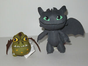 How To Train Your Dragon 2 Plush Toothless Gronkle Sounds LOT Dreamworks Stuffed