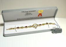 MARCEL DRUCKER LADIES WATCH Stylish Brand New Watch with 9.95ctw Precious Stones