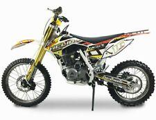 Pitbike Moto Enduro Motocross 170cc Moto Helios Bianco