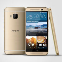 Gold Unlocked HTC One M9 32GB+3GB 4G Octa Smartphone 20MP Android WiFi GPS +WTY