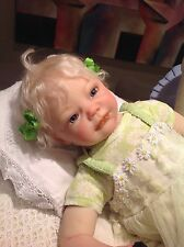 "Nevaeh Beautifully Reborn Sculpt Denise Pratt 20"" 3/4 Limbs Lovely Baby"