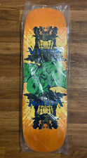 Vision Old School Reissue Double Vision Brown 9.5 x 32.24 Skateboard Deck