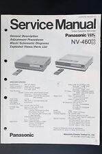 Panasonic NV-460 Original Manual de Servicio/Instrucciones/Esquema Conexiones