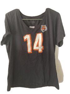 Cincinnati Bengals Andy Dalton Womens Shirt XL