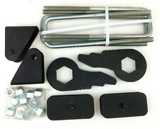 "00-10 Chevy 1500HD, 2500HD, 3500HD - 2""-3"" Truxxx Front & Rear Lift Kit 405030"