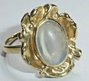 Ring Gold 585 mit Mondstein