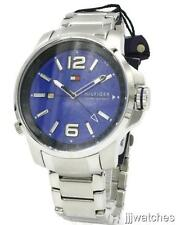 Tommy Hilfiger Brandon Tachymeter Rotating Reflector Men Blue Watch 1791237 $145