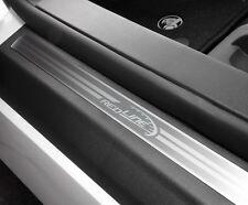 Holden VE Commodore SSV REDLINE Sill Scuff Plates BRAND NEW GENUINE GM Set of 4