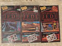 VTG Star Wars Return of the Jedi Presto Magix Set of 3 Jabba the Hut Sarlacc Pit