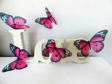 3d butterflies pink Luxury Amazing Butterflies 3D Butterfly Wall Art stickers