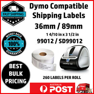 Dymo Compatible 99012 SD99012 LabelWriter 450 Seiko Product Labels 36mm x 89mm