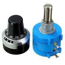 5K Ohm With Turn Counting Dial Rotary Potentiometer Pot 10 Turn 3590S-2-502L