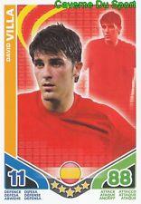 DAVID VILLA # ESPANA CARD CARTE MATCH ATTAX STARS MONDIALE 2010 TOPPS