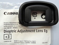 Canon Dioptric Lens Eg+3 for EOS 1DIV,1DX,1Dlll and 1Dslll,5Dlll,5DS,7D.7Dll