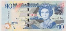 P27g EASTERN CARIBBEAN SATES TEN DOLLARS BANKNOTE IN GOOD EXTREMELY FINE