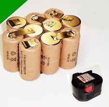 Replacement Battery cells For Original Würth 12 V SD 12 . m. 3 Ah NiMh Panasonic