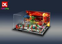 DK- Custom display case for Lego Spring Lantern Festival 80107(Top-Rated Seller)
