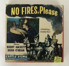 8mm film No Fires Please Castle Films Super8  Movie 1 reel Super 8 vintage