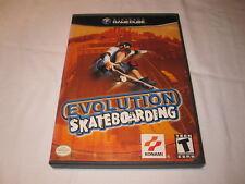 Evolution Skateboarding (Nintendo GameCube) Game in Case Excellent!